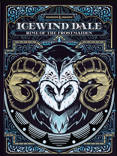 D&D ICEWIND DALE, RIME OF THE FROSTMAIDEN (ALTERNATE COVER)
