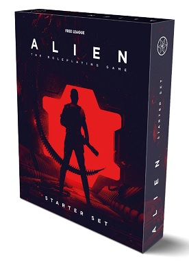 ALIEN, THE ROLEPLAYING GAME STARTER SET