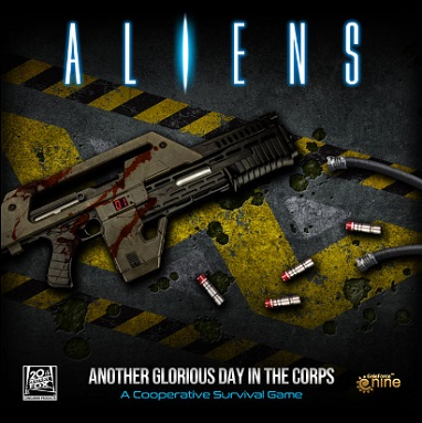 ALIENS, ANOTHER GLORIOUS DAY IN THE CORPS BOARDGAME