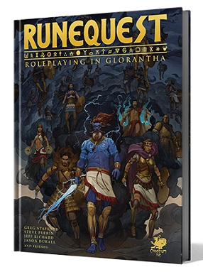 RUNEQUEST, ROLEPLAYING IN GLORANTHA