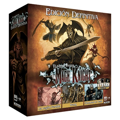 MAGE KNIGHT, EDICION DEFINITIVA 2ª EDICION