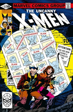MARVEL FACSIMIL 18. THE UNCANNY X-MEN 141