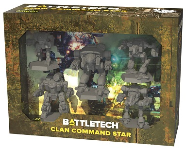 BATTLETECH CLAN COMMAND STAR