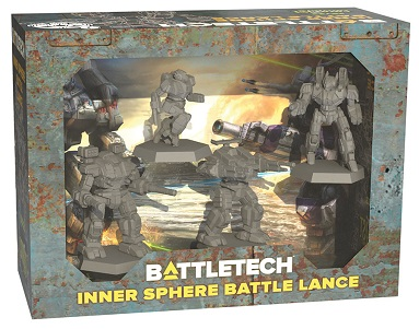 BATTLETECH INNER SPHERE BATTLE LANCE
