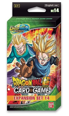 DRAGON BALL SUPER: UNISON WARRIOR SERIES 1 EXPANSION SET 14