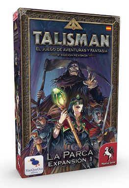 TALISMAN: EXPANSION 1, LA PARCA