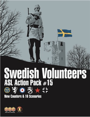 ASL ACTION PACK 15 SWEDISH COLUNTEERS