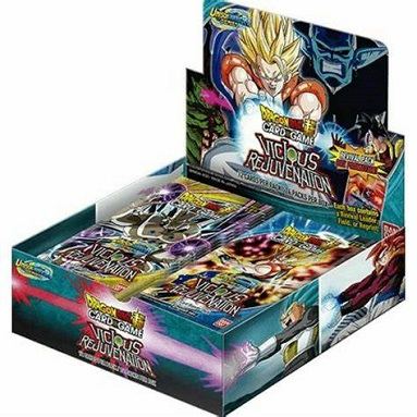 DRAGON BALL SUPER: UNISON WARRIOR SERIE 3 VICIOUS REJUVENATION CAJA DE SOBRES