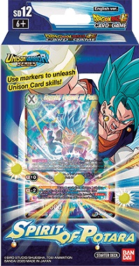 DRAGON BALL SUPER: STARTER DECK 12 SPIRIT OF POTARA