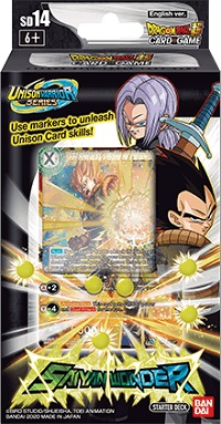 DRAGON BALL SUPER: STARTER DECK 14 SAIYAN WONDER