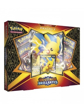 POKEMON DESTINOS BRILLANTES COLECCION PIKACHU V