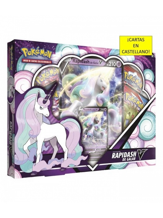 POKEMON COLECCION V BOX  RAPIDASH DE GALAR