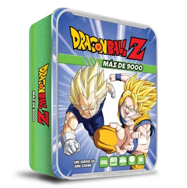 DRAGON BALL Z MAS DE 9000