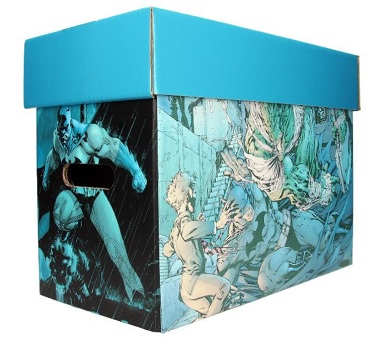 CAJA PARA COMICS DC COMIC - BATMAN JIM LEE