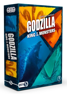 GODZILLA THE KING OF THE MONSTERS