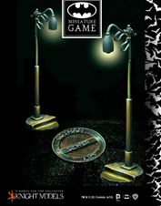BATMAN, EL JUEGO DE MINITURAS: SEWER AND LAMP POST SET I