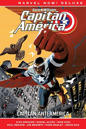 CAPITAN AMERICA DE NICK SPENCER 01. CAPITAN ANTI-AMERICA (MARVEL NOW! DELUXE)