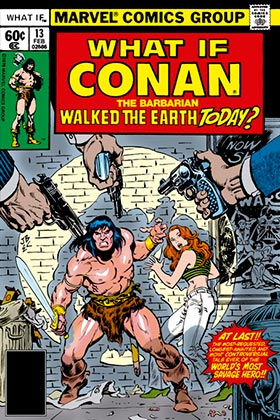 BIBLIOTECA CONAN. WHAT IF? CONAN EL BARBARO