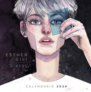 2020 CALENDARIO AZUL. ESTHER GILI