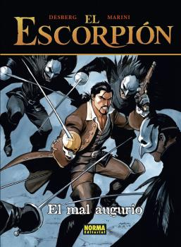 EL ESCORPION 12. EL MAL AUGURIO. CARTONE